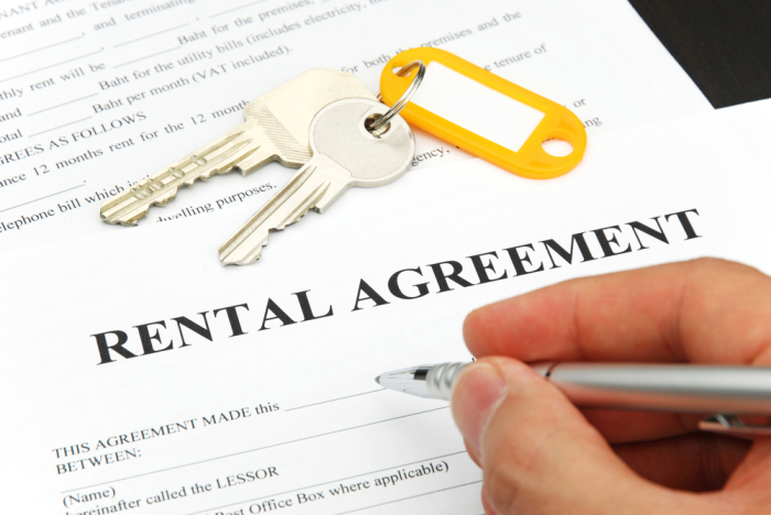 Tips on moving into a rental property
